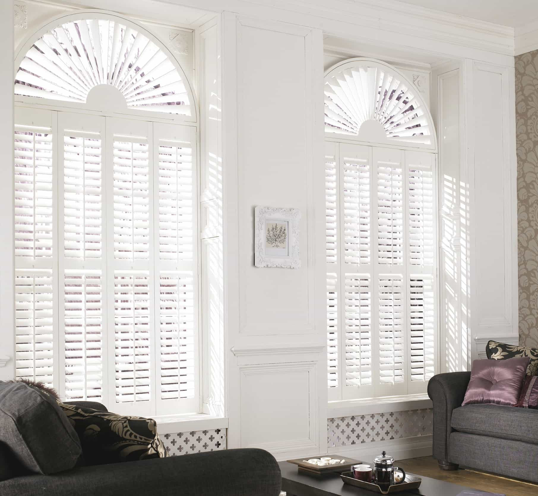Shutters or blinds for home window treatment in Newcastle