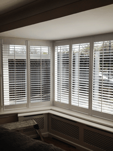 Open Shutters in Whitley Bay