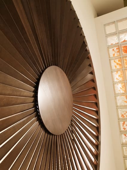 Large Wooden Circle Plantation Shutters in Newcastle for home improvement