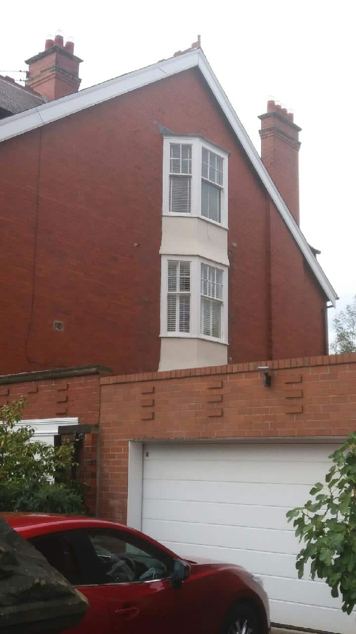 Bay Window Shutters Gosforth - outside home view