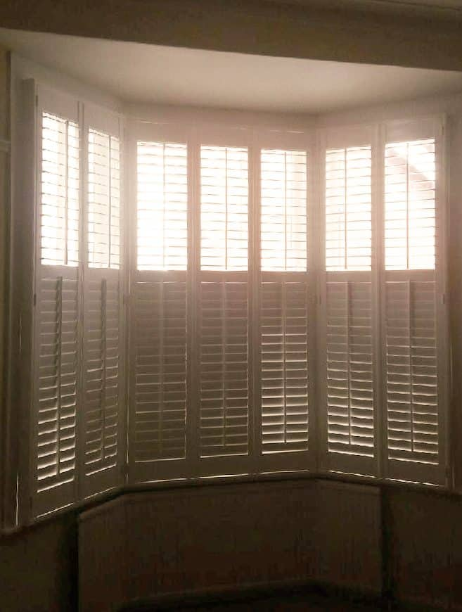Bay Window Shutters installation in Washington