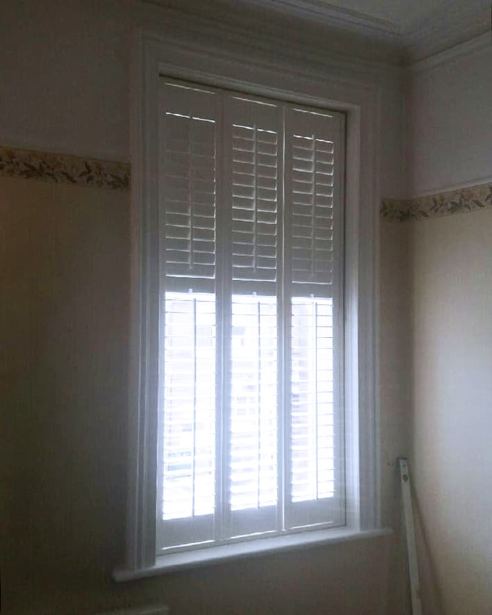 white window plantation shutters and blinds Washington