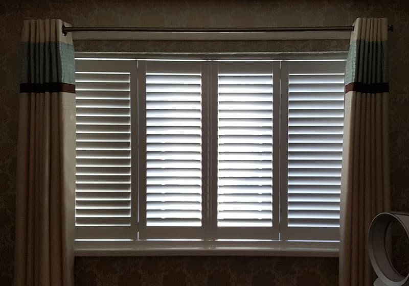 bedroom window shutters Jarrow