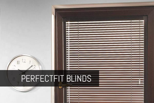 wooden blinds mounted in perfect fit blinds frame