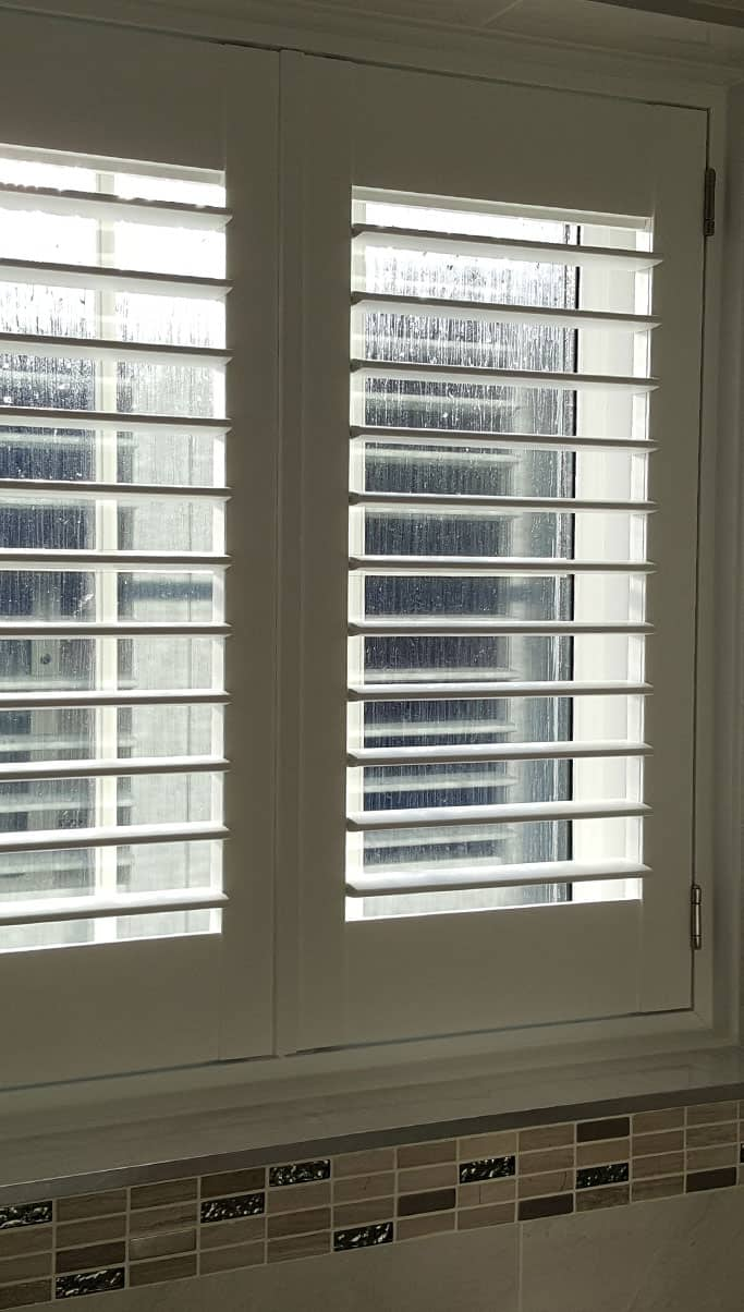 Water-proof-white-wooden-shutters