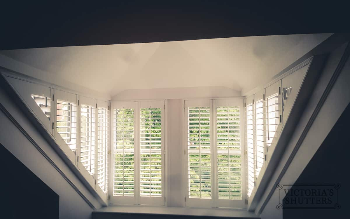 Windows with plantation shutters middlesbrough victoria for 12 window shutters
