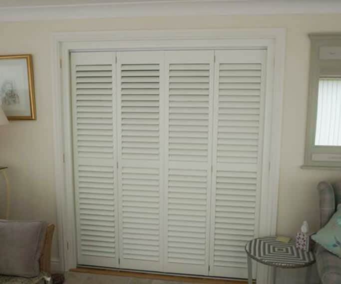 Recent Jobs: Tracked plantation shutters in York