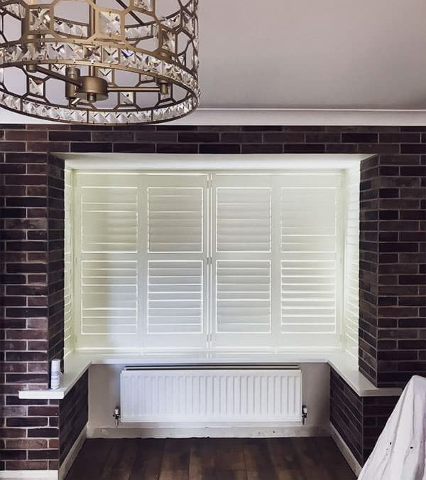 Recent Jobs: Georgia plantation shutters in Cream colour, Square Bay, Sunderland