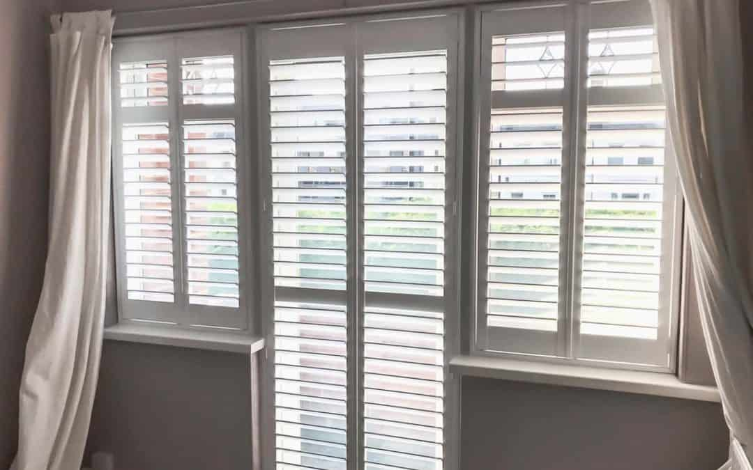 Recent Jobs: Hardwood shutters