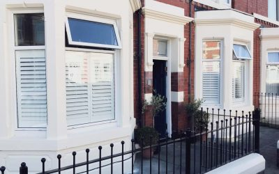 Recent Jobs: Café Style Plantation Shutters, North Shields