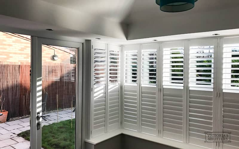 Recent Jobs: Conservatory Plantation Shutters