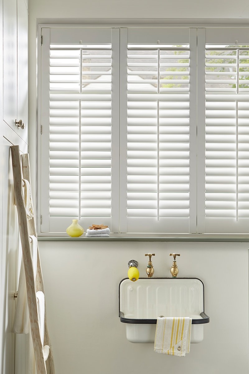 Best Interior Shutters Window Bathroom View