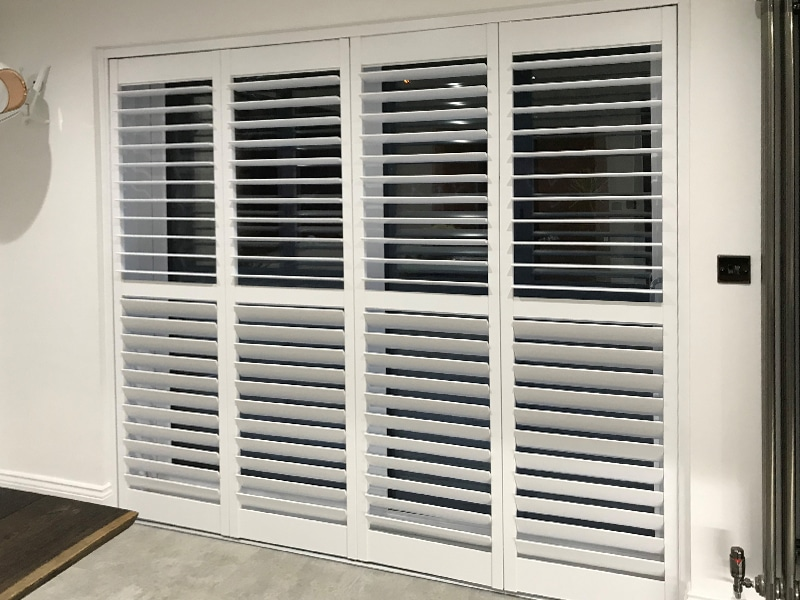 Recent Jobs: Bay Window and Bi-folding Shutters